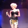 Bonnie Kilroe as Madonna  - Celebrity Imposters Impersonator