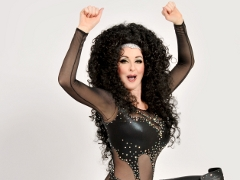 Cher Impersonator Bonnie Kilroe is sexy in her revealing bodysuit - Celebrity Imposters Impersonator