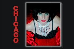 Bonnie Kilroe as Liza Minnelli from 'Cabaret'